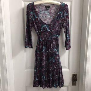 Lucky Brand paisley print dress